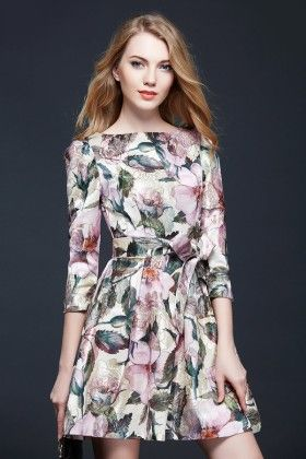 Fresh Bloom Dress - Drape In Vogue