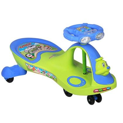 Dealbindaas Duck Swing Car Light And Music Green - Deal Bindaas
