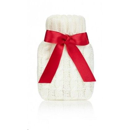 Cream Cable Knit Mini Hand Warmer - NPW