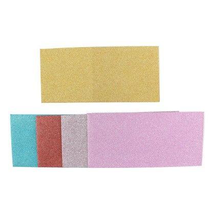 Shimmer Paper Multi Colours Envelopes - Pack Of 5 - Velvetise