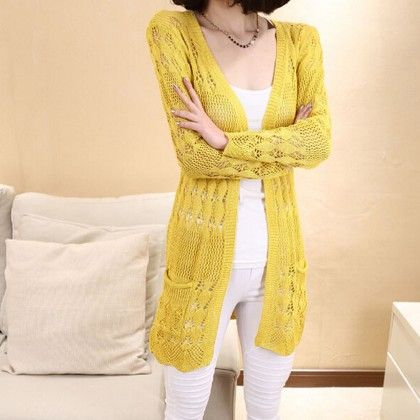Thin Wool Shurg Yellow - STUPA FASHION