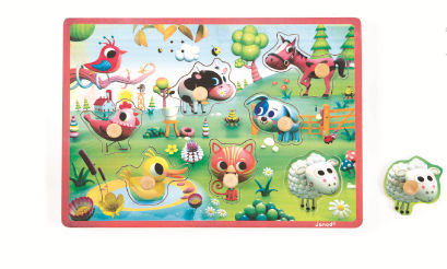 Meadow Friends Musical Puzzle - Jura Toys
