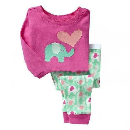 Pink & Ice Blue Pyjama Set - Lil Mantra
