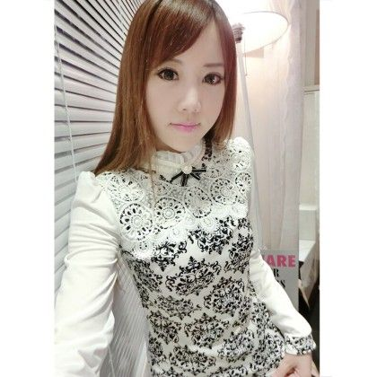 White Lace Top - STUPA FASHION
