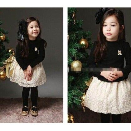 Full Sleeve Winter Dress - Petite Kids