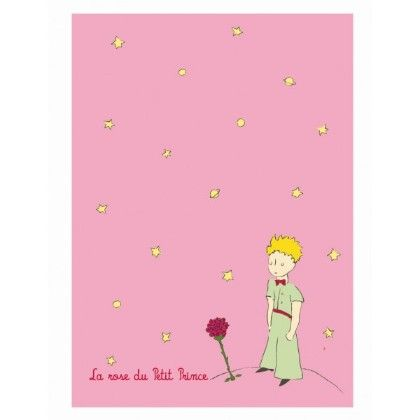 Notebook Large Size Pink The Little Prince - Petit Jour