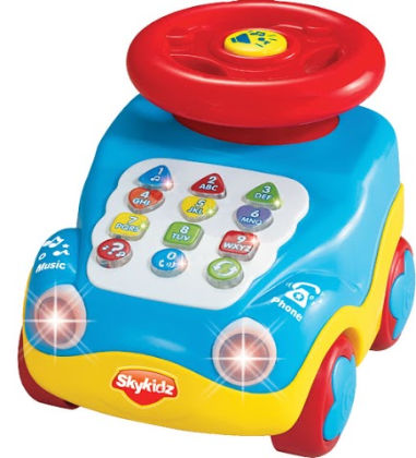 Mitashi Skykids Learning Car Musical Toy - Sky Kidz