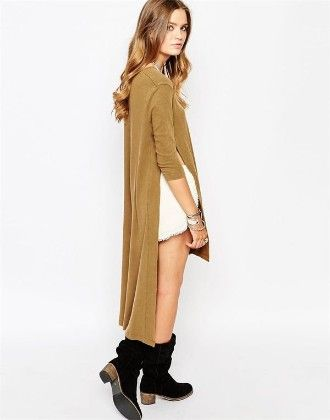 Long And Short Dress - Drape In Vogue