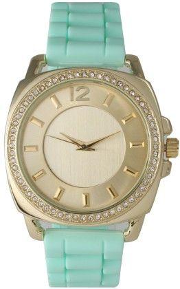 Vernier Women's Classic Feminine Green Bracelet Leather Strap - Vernier Watches