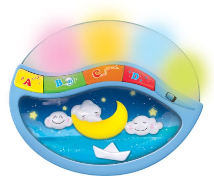 Mitashi Skykids Lullaby Moon Night Light - Sky Kidz