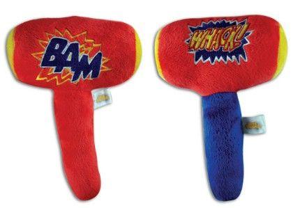 Plush Smash Hammer With Sound - Novelty Inc