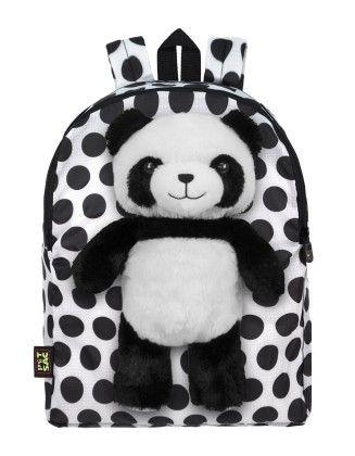 Panda White Polka Dot - Petsac