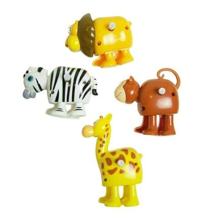 Wind Up Toys - Safari - Sassafras
