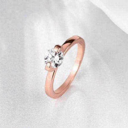 Classic Rose Gold Wedding Ring - Rubique Jewelry