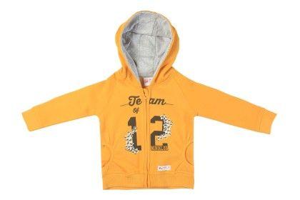 Sweat Shirt With Hood Yellow - FS Mini Klub
