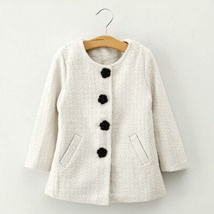 Longhorns Coat - White - Lil Mantra