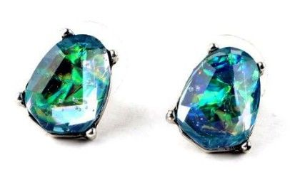 Blue Diamond Earring- Hues Of Blue - Shu Sam & Smith