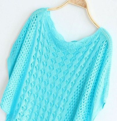 Crochet Green Tops - Dells World