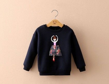 Lovely Dancing Doll Sweatshirt By Mauve - Mauve Collection