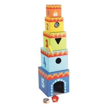 Stacking Castle Cubes - Classic World