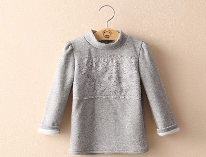 Grey Pretty Sweatshirt By Mauve - Mauve Collection