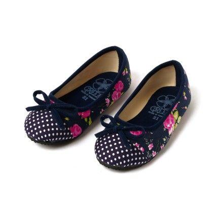 Girls Ballerina Navy Blue - Lek Cotton - 235079