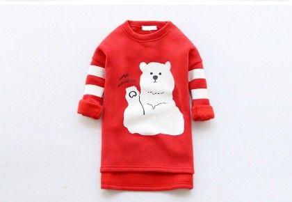 Long Teddy Sweatshirt By Mauve - Mauve Collection