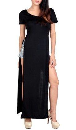 Black Maxi Dress - Oomph