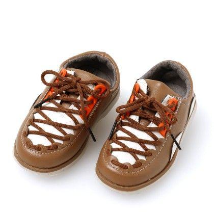 Boys Lace Shoes Brown - Best Shoes