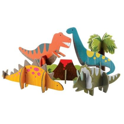 Dinosaurs Pop-out - Petit Collage