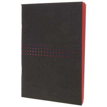 Black Lazer Cut With Red Notebook - Creative Crazy