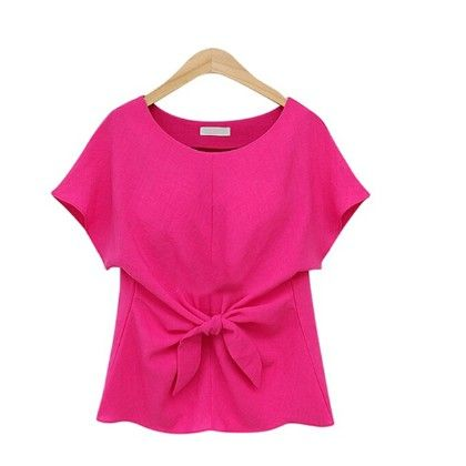 Knotted Pink Top - Oomph