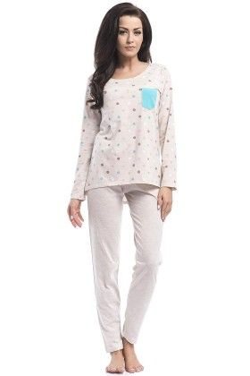 Polka Dotted Stand Out Pocket Pyjama Set - Dobranocka