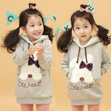 Grey Long Sweatshirt For Gals By Mauve - Mauve Collection