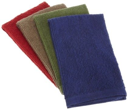 Bar Mop Towel Classic  Set Of 4 - Design Imports