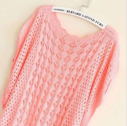 Crochet Peach Tops - Dells World