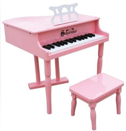 30 Key Classic Baby Grand (pink) - Toy Piano