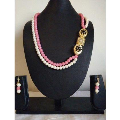 Gold & Black Stone Necklace - Trendy And Style