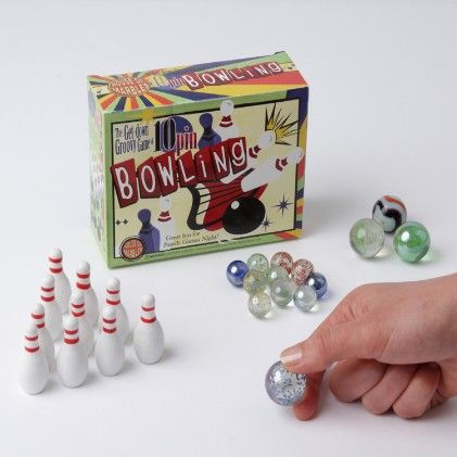 Miniature Ten Pin Bowling - House Of Marbles