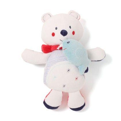Musical Polar Bear Soft Toys - Sucre D'Orge