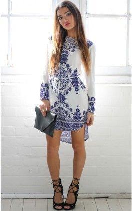 White-dress - Drape In Vogue