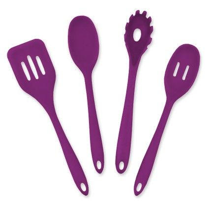Purple 4 Piece Kitchen Cooking Set - Design Imports