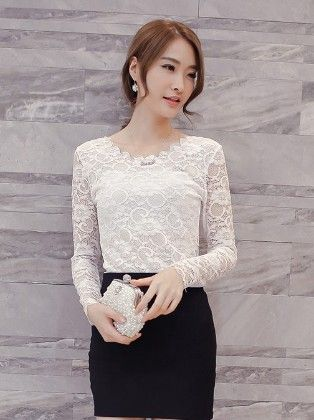 Lace Top By Mauve - Mauve Collecton