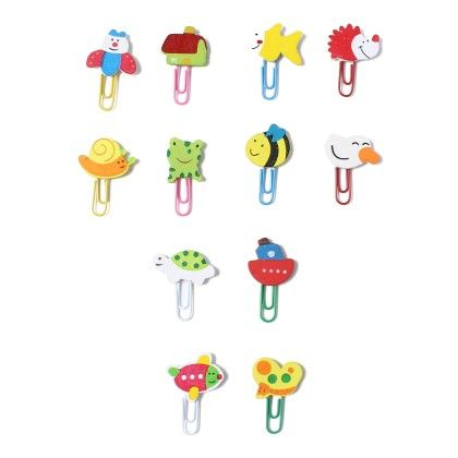 Assorted U-clips- Pack Of 12 - Diya