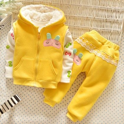 Yellow Bunny Tracksuit - Lil Mantra