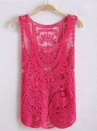 Cotton Lace Pink Shrugs - Dells World