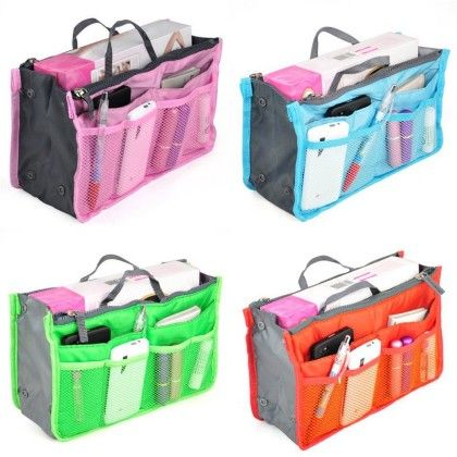 Bag In Bag Organizer (assorted) 1unit - HitPlay