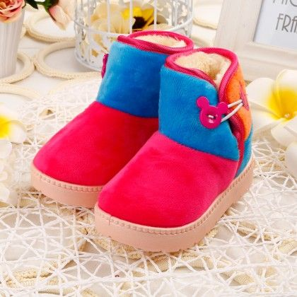 Winter Style Pink Boots - Oh Pair