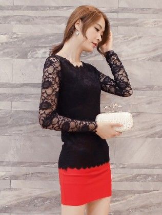 Lace Top By Mauve - Mauve Collecton - 226171