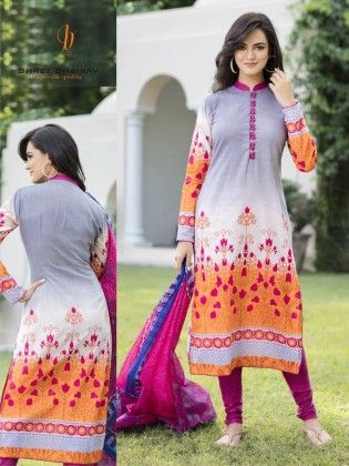 Cotton Floral Dress Material - Fashion Fiesta